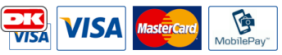 Her kan du betale med VISA, VISA-Dankort, MasterCard og MobilePay
